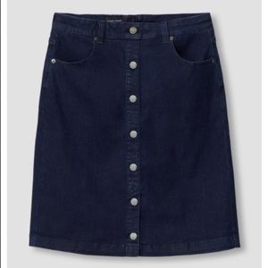 NWT Ang Denim Skirt by Universal Standard